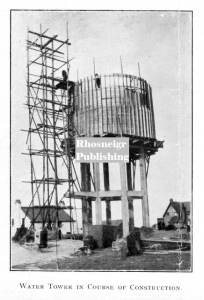 TRR P038A rhosneigr water tower 1931 in construction 2 1