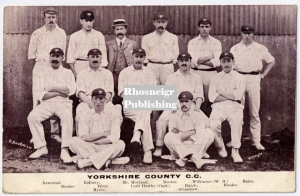 TRR P097A yorkshire cricket team was 1908