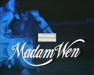 TRR P152 madam wen film title with horse