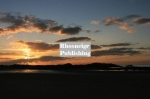 Rhosneigr sunset over boating pool 1705 1
